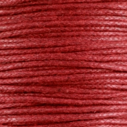 Kordel aus Wachs 1.5 mm Ruby red