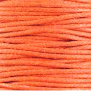 Kordel aus Wachs 1.5 mm Warm orange