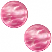 Polaris Elements Cabochon 12 mm flach Perlmutt Cashmere rose