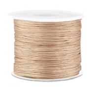 Band Macramé 0.7mm Dark champagne beige