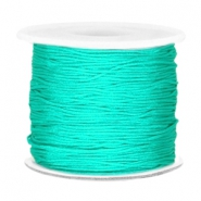 Band Macramé 0.7mm Turquoise green