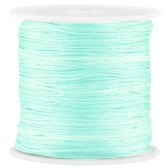 Satin Macramé Satinband 0.8 mm Light crysolite green