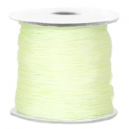 Kordel Macramé Light citrine green