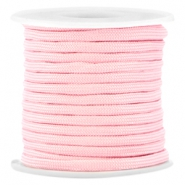 Trendy Surf Kordel 4mm flach Pink