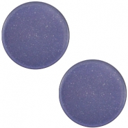 12mm flache Polaris Elements Super Cabochon Midnight blue