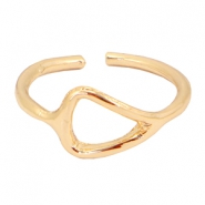 Trendy Ring Dreieck Gold