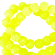 Sparkle beads 6mm Neon gelb