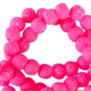 Sparkle beads 6mm Flourish fuchsia
