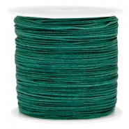 Band Macramé 0.8mm Dark emerald green