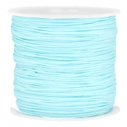 Band Macramé 0.8mm Light aquamarine blue
