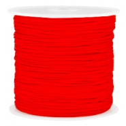 Band Macramé 0.8mm Fiery red