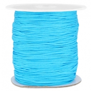 Band Macramé 1.0mm Cyan blue