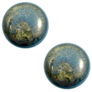 12 mm classic Polaris Elements Stardust Cabochon Blue shade