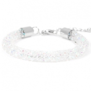 Armband Crystal diamond 8mm Crystal aurore boreale