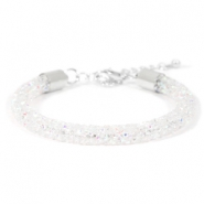 Armband Crystal diamond 7mm Crystal aurore boreale
