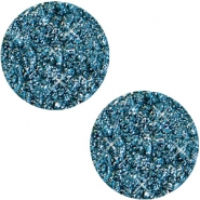 12mm flach Polaris Elements Cabochon Goldstein Mosaic blue