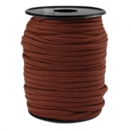 Trendy kordel rund Paracord 4 mm Chestnut brown