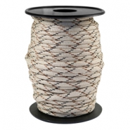 Trendy kordel rund Paracord 4 mm Beige-brown
