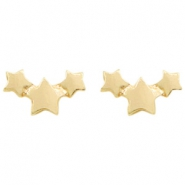 Musthave Ohrringe Stars Gold