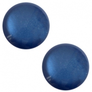 12 mm classic Polaris Elements sanft Töne shiny Cabochon Radiant blue