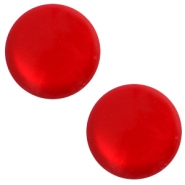 12 mm classic Polaris Elements sanft Töne shiny Cabochon Scarlet red