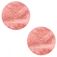 12 mm flach Polaris Elements Mosso shiny Cabochon Canyon rose