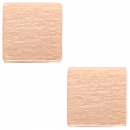 12 mm flach Polaris Elements Cabochon viereckig Light blush pink