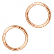 6mm DQ Bindering  DQ rose gold