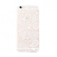 Telefonhüllen für iPhone 7/8 Paisley Transparent-white