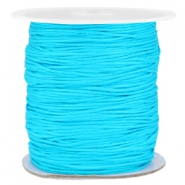 Band Macramé 1.0mm Aqua blue