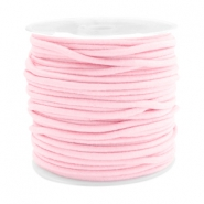 Elastik gefärbt 2.5mm Light rose