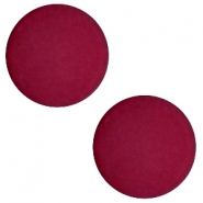 12 mm flach Polaris Elements Cabochons matt Velvet purple