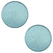 12 mm flach Super Polaris Cabochon Dark sea blue