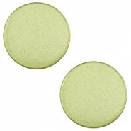 12 mm flach Super Polaris Cabochon Salvia green