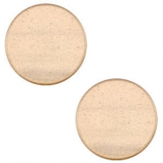 12 mm flach Super Polaris Cabochon Hazel brown