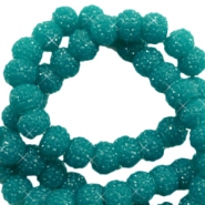 Sparkle beads 8mm Glacier green