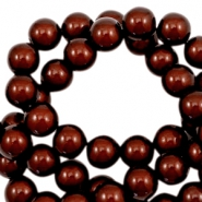 3D Miracle Perlen 4mm Dark brown
