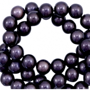 3D Miracle Perlen 10mm Dark lilac purple