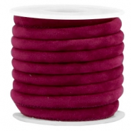 Trendy Velvet Kordel gesteppt 6x4mm Yarrow purple