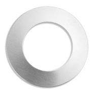 ImpressArt Stempel Aluminium Labels Ring 32mm Silber