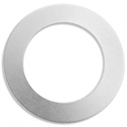 ImpressArt Stempel Alkeme Labels Ring 38mm Silber