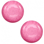 7 mm classic Super Polaris Cabochon Mosso shiny Peonia pink
